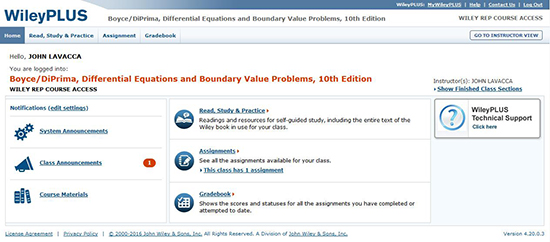 Elementary Differential Equations and Boundary Value Problems, 11th
