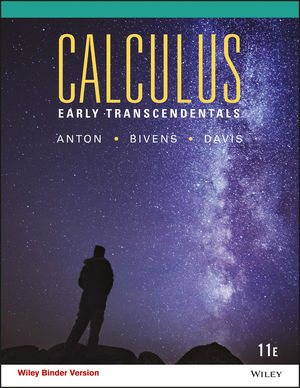 Calculus: Early Transcendentals, 11th Edition - WileyPLUS