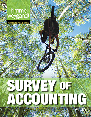 Survey of Accounting, 1st Edition Book Cover