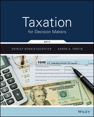 Taxation for Decision Makers, 2017 Edition Book Cover