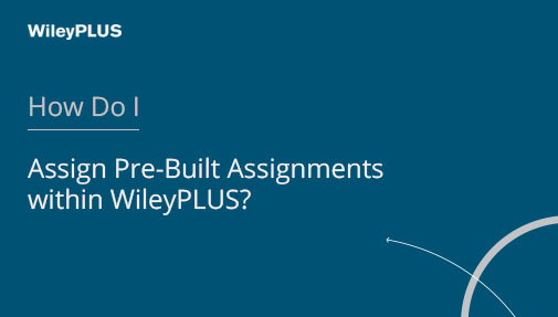 WileyPLUS Video Tutorials