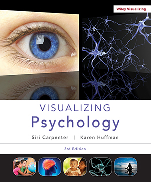 Visualizing Psychology, Third Edition Book Cover