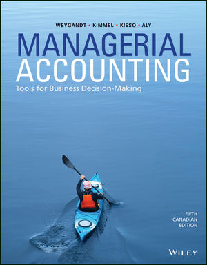 Managerial Accounting, 5th Canadian Edition Book Cover
