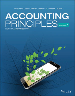 Accounting Principles, 8th Canadian Edition Book Cover