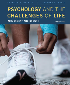 Psychology and the Challenges of Life: Adjustment and Growth 14e Book Cover