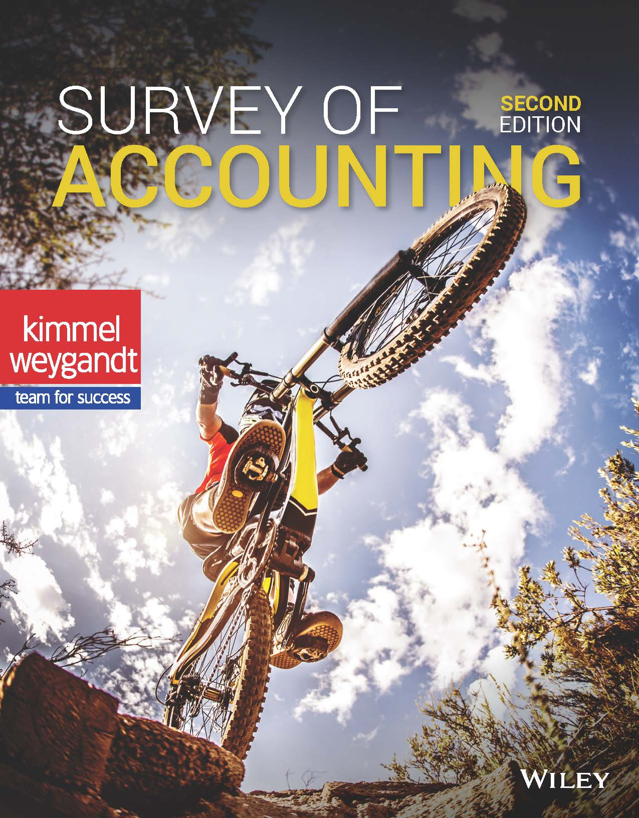Survey of Accounting, 2nd Edition Book Cover